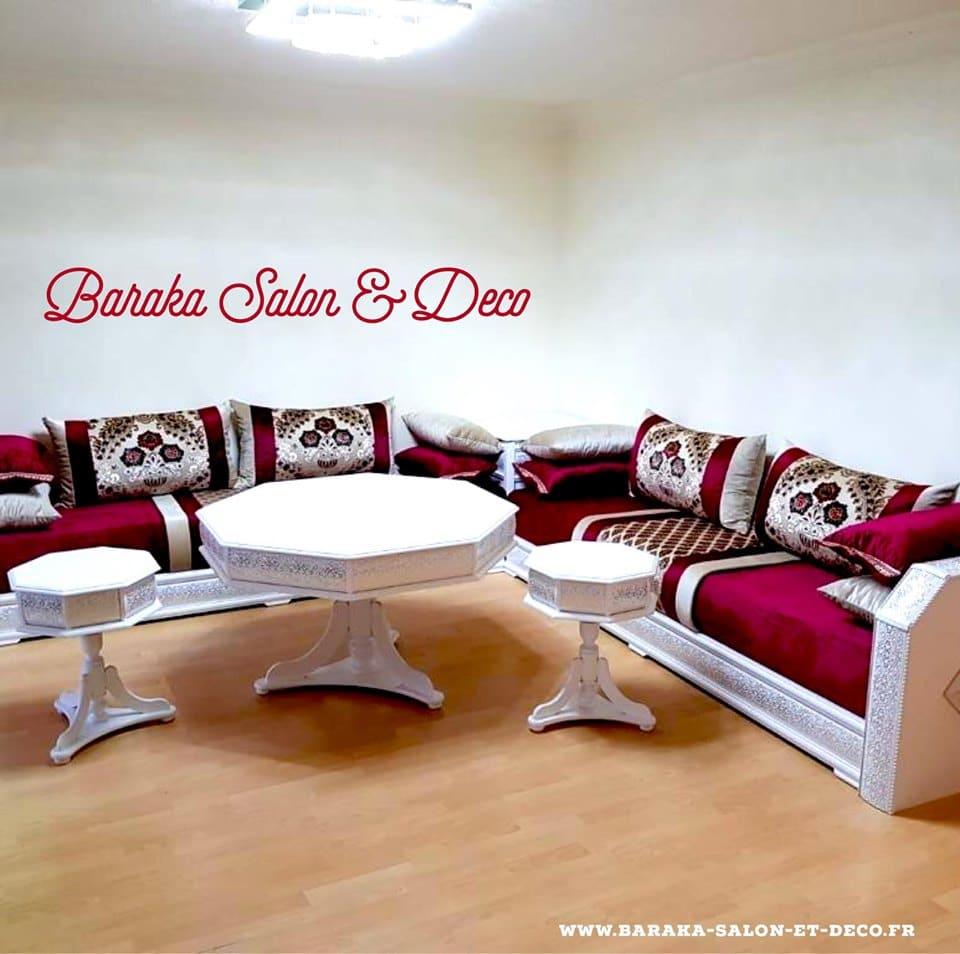 Baraka Salon Deco Salons Marocains Sur Mesure A Montpellier